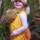 Григорьева Ксения Олеговна, 3 года, «Девочка – белочка». © Григорьева Надежда Александровна