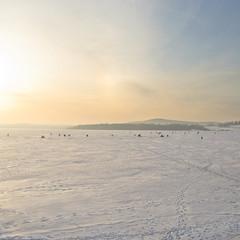 Подлёдный лов. © Марина Варфоломеева