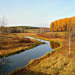 Река. © tuman