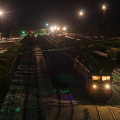 Ночной вокзал. © Александр Скрябин