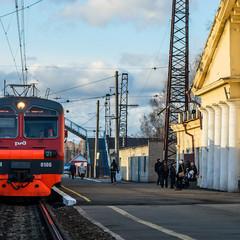 Вокзал. © Марина Варфоломеева