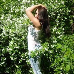 Девушка расцветает весной! © Светлана Мохова
