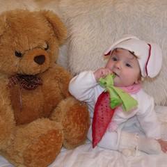 На фото Ульяна Ставрова ,7 месяцев ! Фотография сделана  для фотоконкурса :) Костюм полностью сделан своими руками :) © Ульяна Ставрова