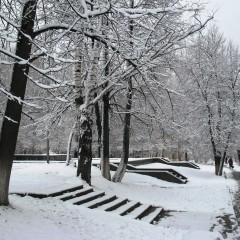 Апрельский снегопад © Эльвира Файзутдинова