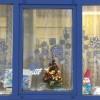 Новогоднее окно в центральной библиотеке © Бегунова Ирина
