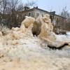Снега нет. Зато льда много! © Дмитрий Меньшиков