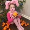 Свинка в апельсинках. © Екатерина Казакова, 4 года