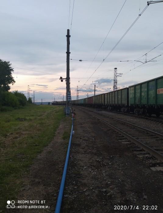 Железнодорожный состав. © Алексей Иванов