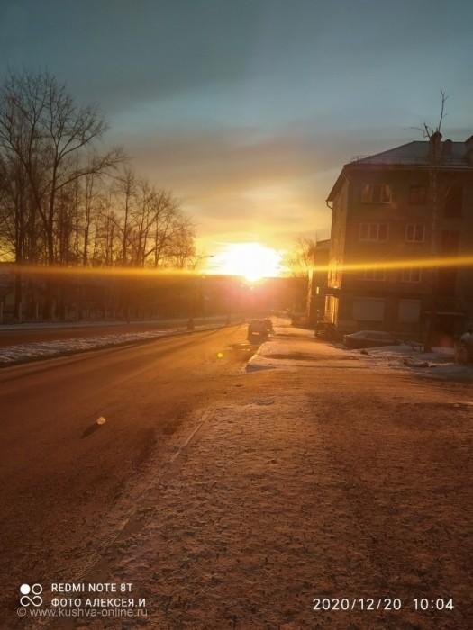 Солнечное морозное утро🌄.. © Алексей Иванов