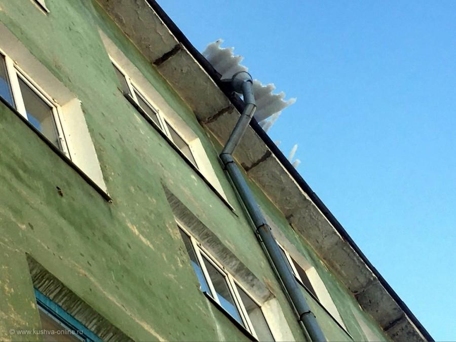 Союзов, 1. Прямо над подъездом. © Алексей Лукин