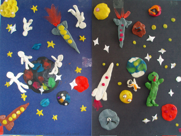 Детям младшей группы о космосе
