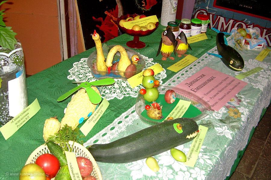 Выставка поделок из овощей картинки